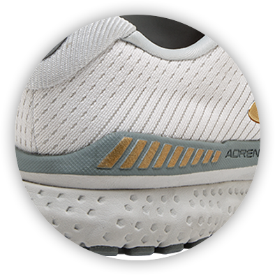 Brooks Adrenaline GTS running shoe outsole