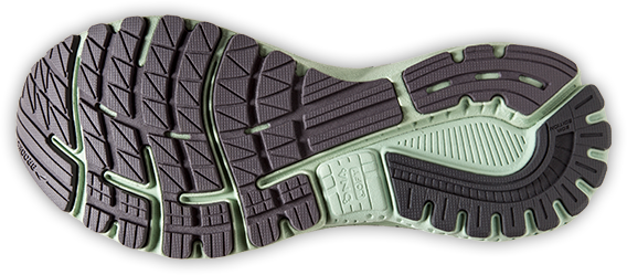 Sole of Brooks Adrenaline GTS 20 running shoes