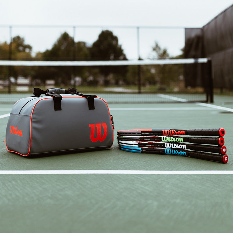 Free Wilson Clash Duffel with Select Racquets