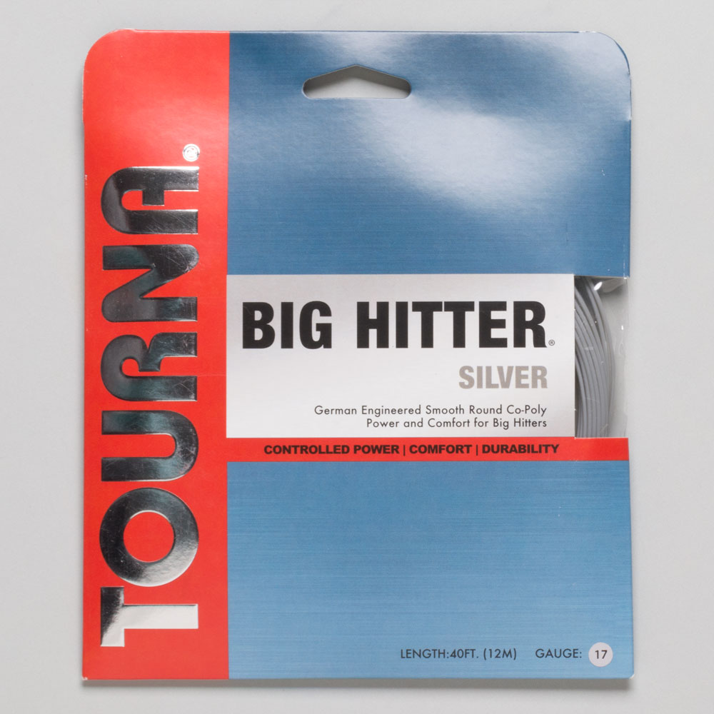 Tourna Big Hitter Silver 17: Tourna Tennis String Packages