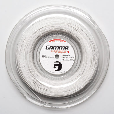 Gamma Synthetic Gut WearGuard 16 660' Reel