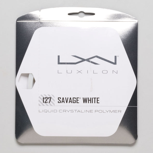 Luxilon Savage White 16 (1.27)