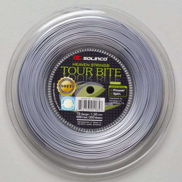 Solinco Tour Bite Soft 16 1.30 660' Reel