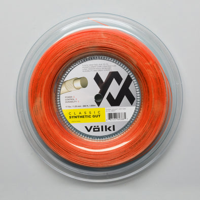 Volkl Classic Synthetic Gut 16 660' Reel
