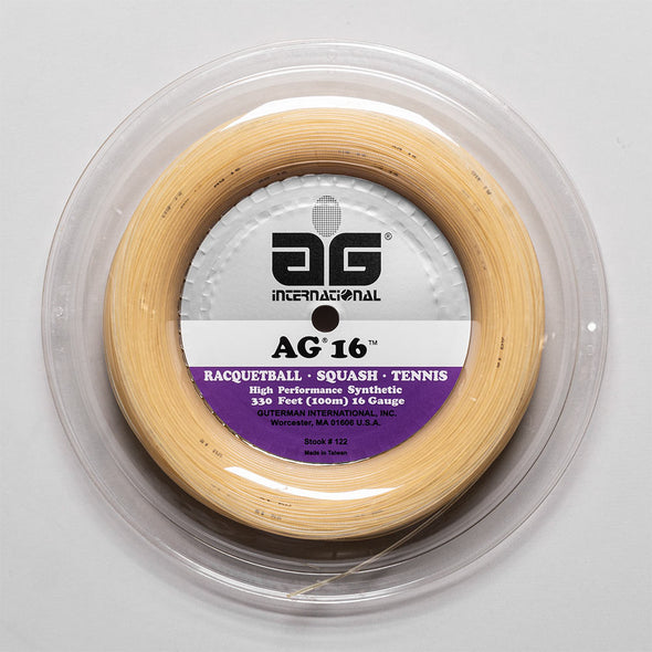 AG Synthetic Gut 16G 330' Reel