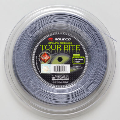 Solinco Tour Bite Diamond Rough 17 660' Reel