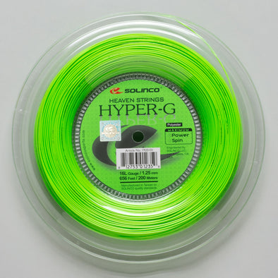 Solinco Hyper-G 16L 1.25 656' Reel