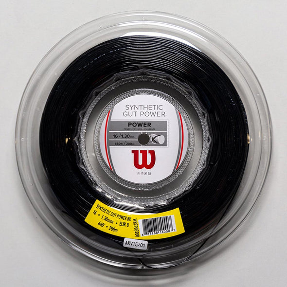 Wilson Synthetic Gut Power 16 660' Reel