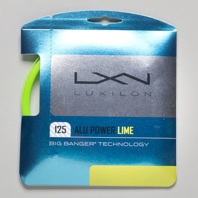 Luxilon Big Banger ALU Power 16L (1.25) LE Lime