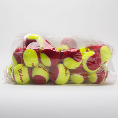 Wilson Starter Red Tennis Ball Bag of 36 Balls