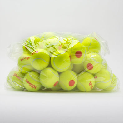 Wilson Starter Orange Tennis Ball Bag of 48 Balls