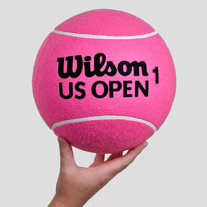 "Wilson 10"" US Open Jumbo Tennis Ball Pink"