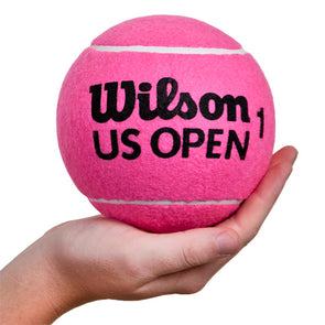 "Wilson 5"" US Open Mini Jumbo Tennis Ball Pink"