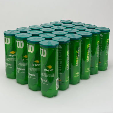 Wilson US Open Tournament Green Ball 24 Cans