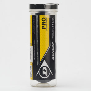 Dunlop Pro Dot 3 Ball Tube