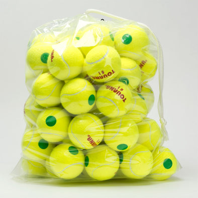 Tourna Pressurized Green Dot 60 Pack Balls