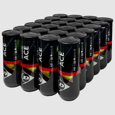 Dunlop Ace All Court 24 Cans