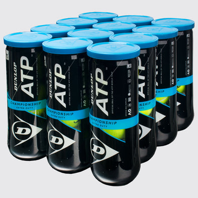 Dunlop ATP Championship Extra Duty 12 Cans