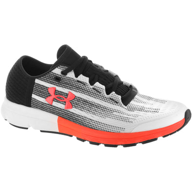 Under Armour SpeedForm Velociti Men's White/Black/Phoenix Fire