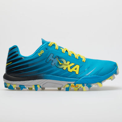 Hoka One One EVO JAWZ Men's Cyan/Citrus