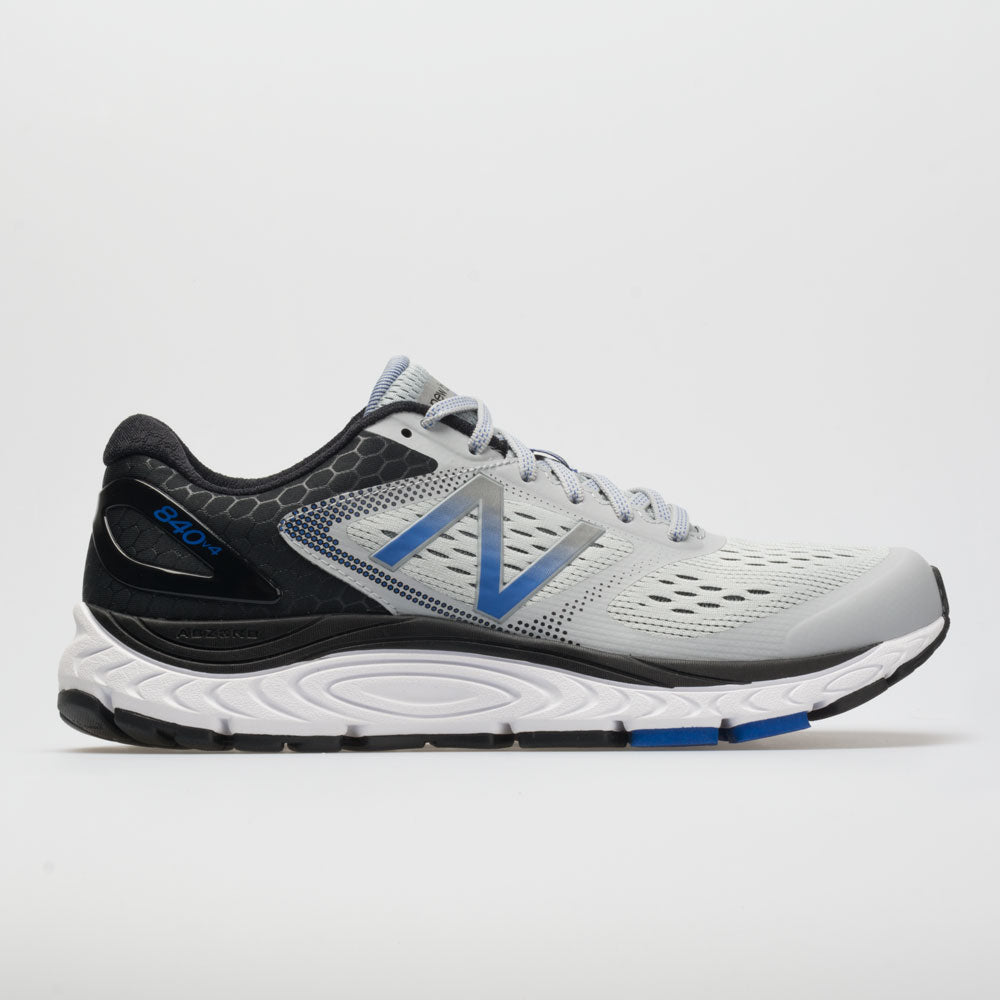 New Balance 840v4: New Balance Men's Running Shoes Silver Mink/Team Blue