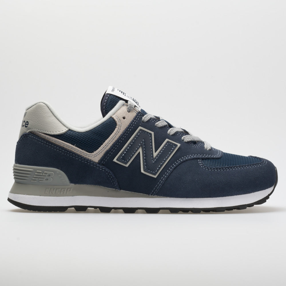 New Balance 574 Core Men's Running Shoes Navy Size 12 Width D - Medium