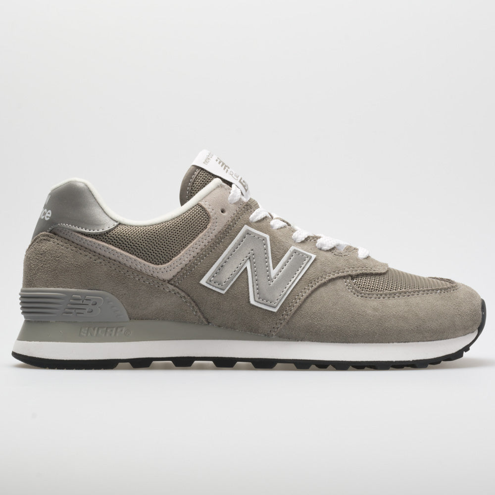 New Balance 574 Core: New Balance Women's Running Shoes Grey/White