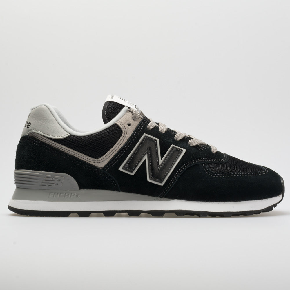 New Balance 574 Core: New Balance Women's Running Shoes Black/White