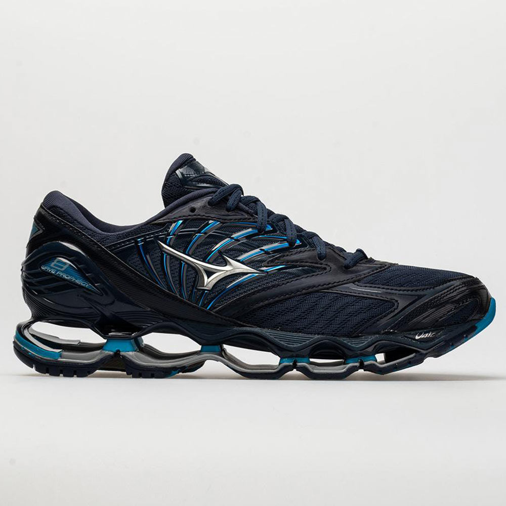 Mizuno Wave Prophecy 8 Men s Blue Wing Tail Silver – Holabird Sports 13ae6f229e57f