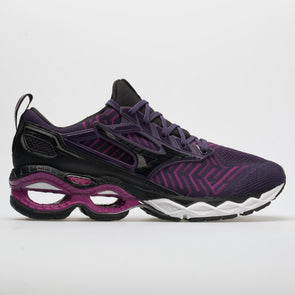 Mizuno Waveknit C1 Women's Plum/Black