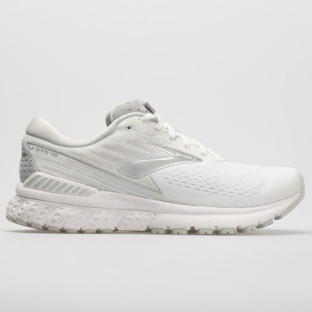 309aa634f7146 Brooks Adrenaline GTS 19 Women s White White Gray – Holabird Sports