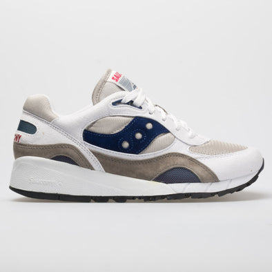 Saucony Shadow 6000 Men's White/Gray/Navy