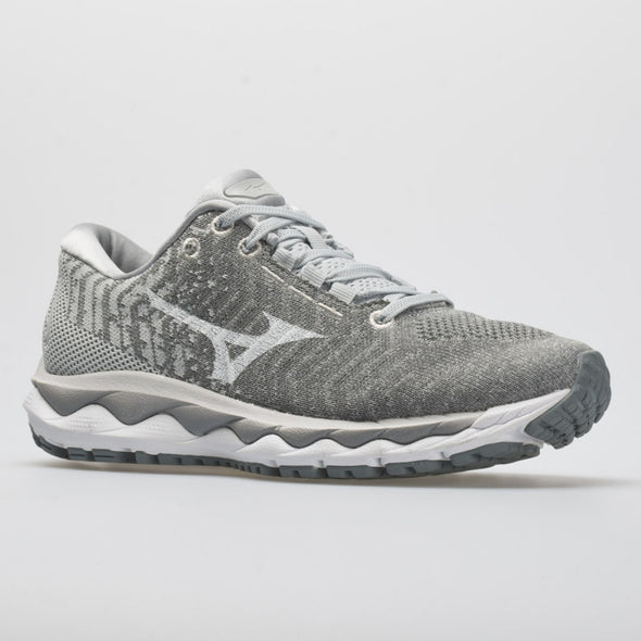 Mizuno Wave Sky Waveknit 3 Women's Glacier Grey/White
