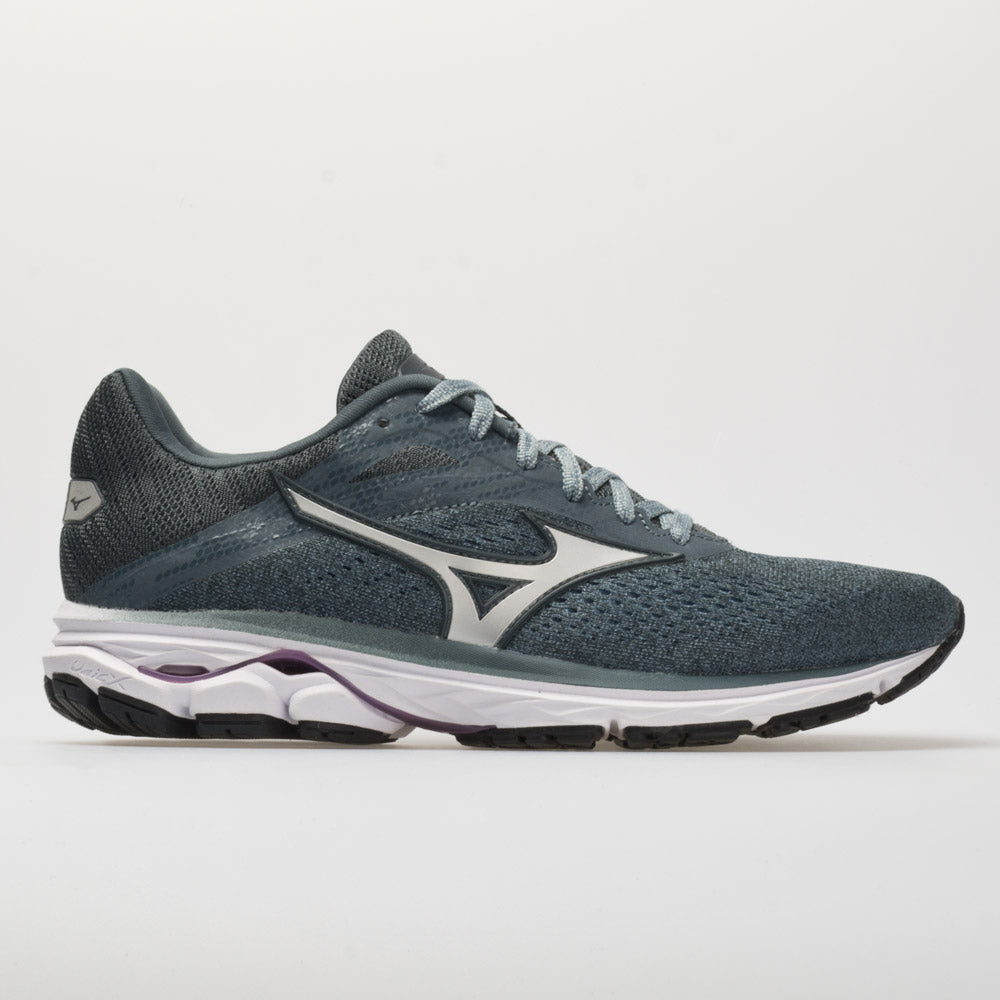 Blue Sports Mizuno Womens Wave Rider 23 Running Shoes Trainers Sneakers