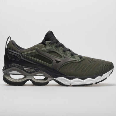 Mizuno Waveknit C1 Men's Beetle/Metallic Shadow