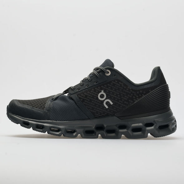 On Cloudstratus Men's Black/Shadow