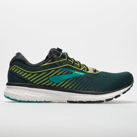 Brooks Ghost 12 Men's Black/Lime/Blue Grass