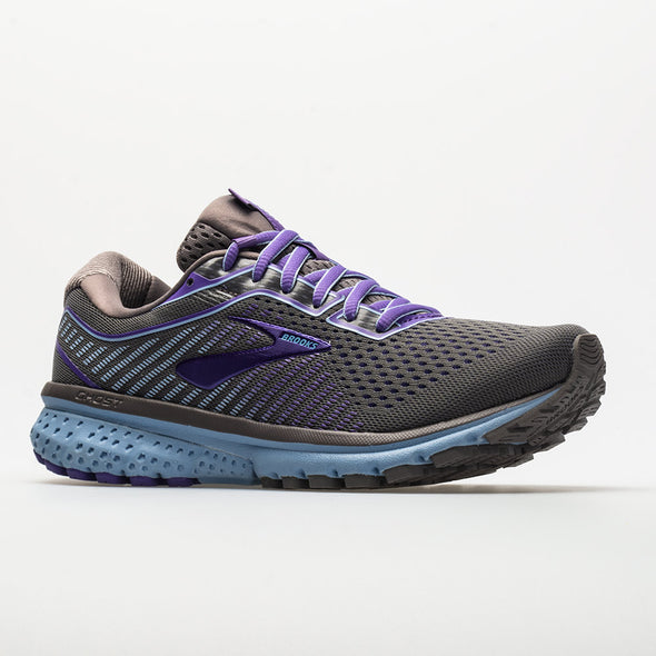 Brooks Ghost 12 Women's Shark/Violet/Bel Air Blue