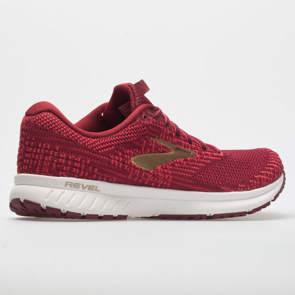 Brooks Revel 3 Women's Rumba Red/Teaberry/Gold