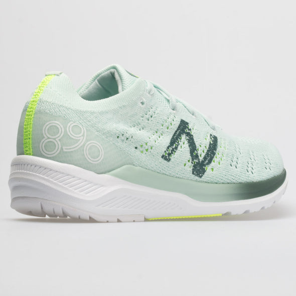 New Balance 890v7 Women's Crystal Sage/Dark Agave/Bleached Lime Glo