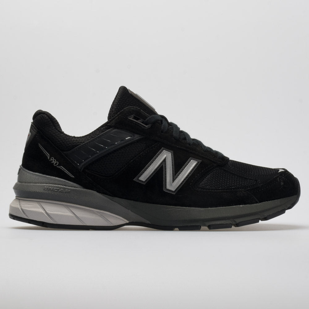 the latest a2dc5 e64af New Balance 990v5 Men's Black/Silver