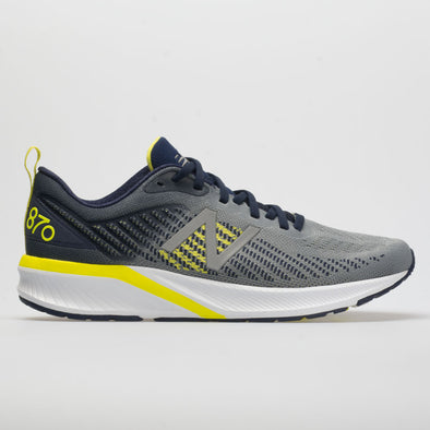 New Balance 870v5 Men's Gunmetal/Pigment/Sulphur Yellow