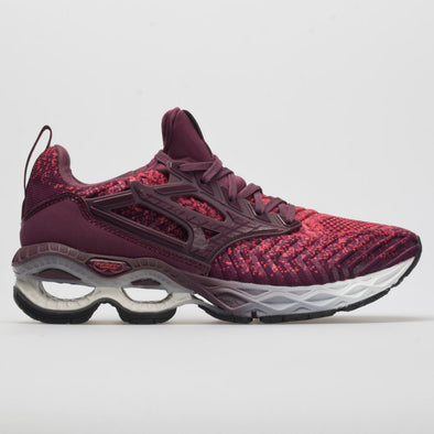 Mizuno Creation Waveknit 2 Women's Cayenne/Mauve Wine