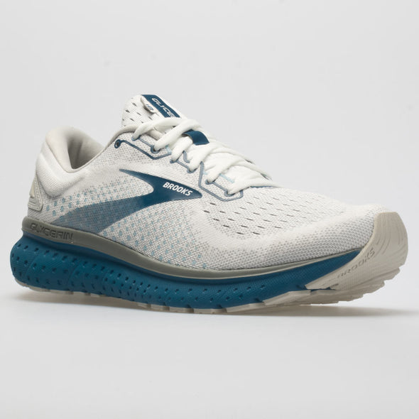 Brooks Glycerin 18 Men's White/Gray/Posiedon