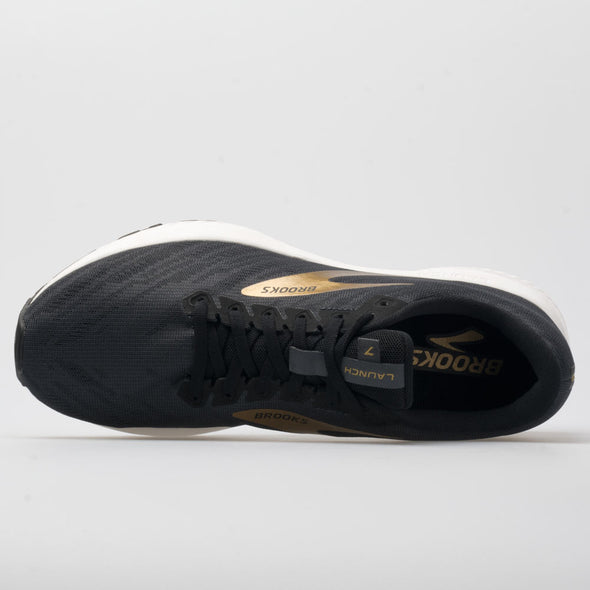Brooks Launch 7 Men's Ebony/Black/Gold