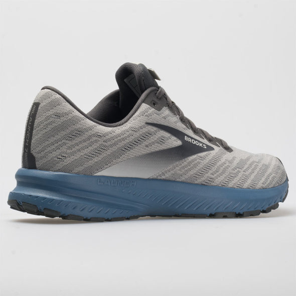 Brooks Launch 7 Men's Antarctica/Black/Silver