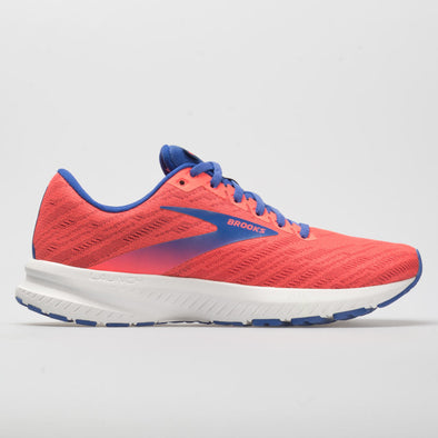 Brooks Launch 7 Women's Coral/Claret/Blue