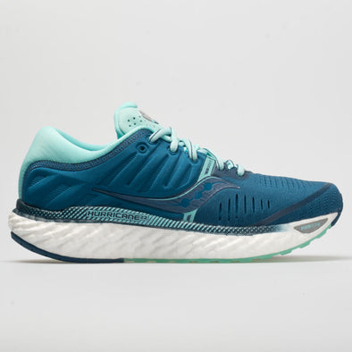Saucony Hurricane 22 Women's Blue/Aqua