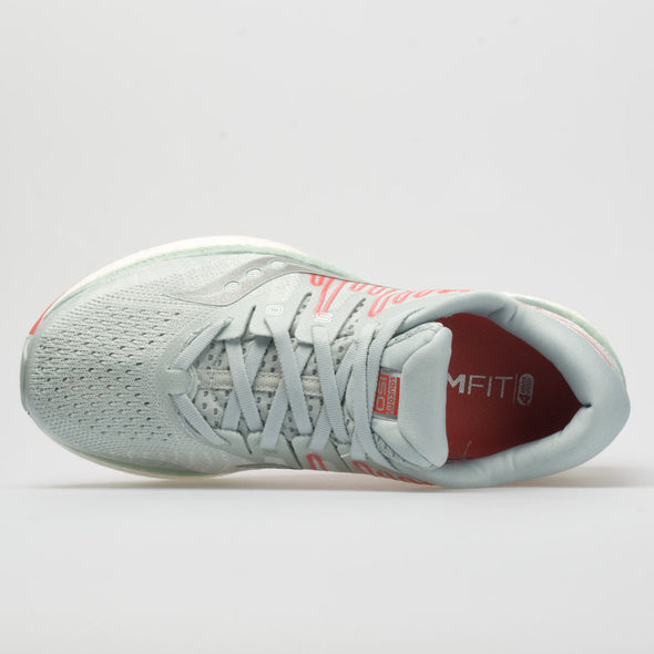 Saucony Liberty ISO 2 Women's Sky Gray/Coral