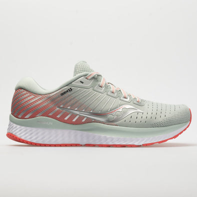 Saucony Guide 13 Women's Sky Gray/Coral